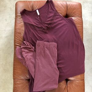 Cacique Pajamas 2pc Tank Leggings 22/24